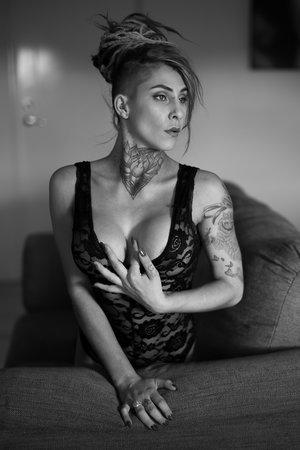 Brisbane tattoo boudoir