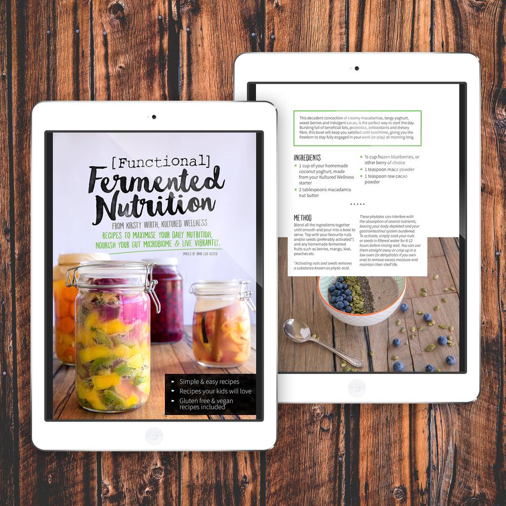 eBook design for Kultured Wellness.