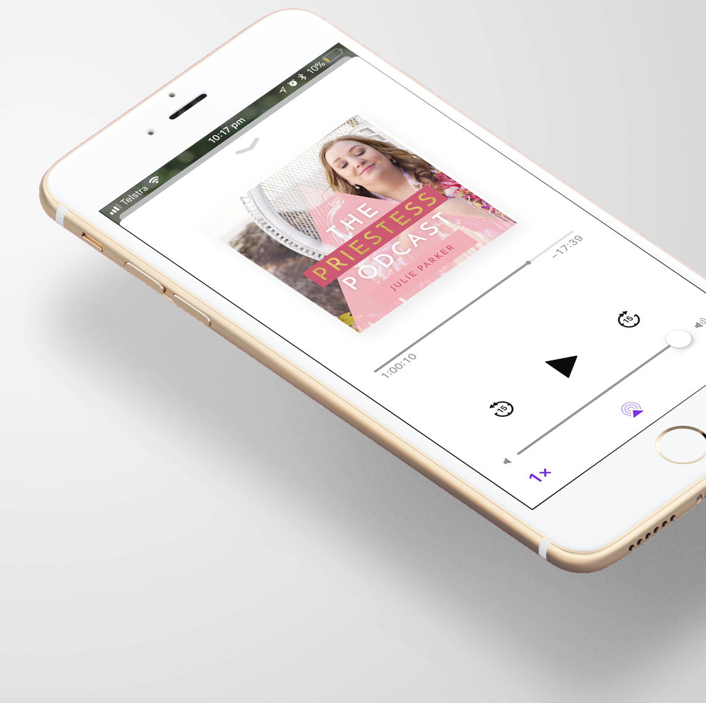 Podcast Design - Stand out amongst the crowd with a Podcast design that's eye catching and intriguing! Includes iTunes image and promotional image template for you to edit as you promote your new podcast!Podcast Design: $300