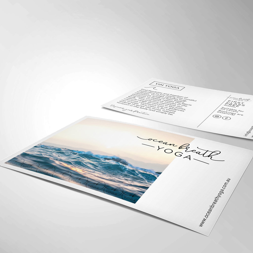 Flyer/postcard - Want to communicate to future customers in the old reliable print medium? You can't go past a gorgeous postcard, DL flyer or brochure.Postcard/DL Flyer: $180*Tri-fold Brochure: $250**Design only. Printing comes at extra cost.