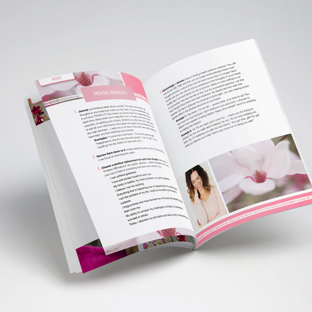 e-book - Educate your readers through showcasing your expertise in an eBook. I'll help you transform your knowledge into a beautiful PDF that steps your readers through all your content in a clear and aesthetic way. eBook: Base rate (1-20 pages): $400.Every additional page thereafter: $8 per page.