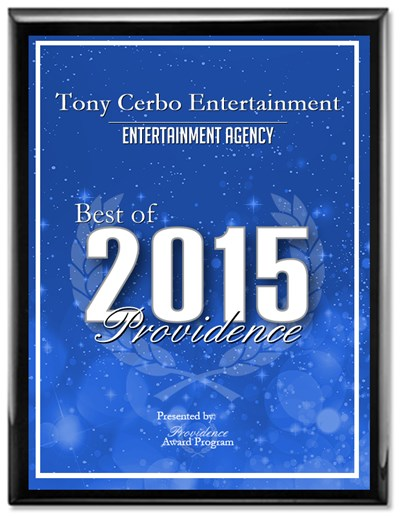 Tony Cerbo Entertainment Receives 2015 Best of Providence Award  Providence Award Program Honors the Achievement  PROVIDENCE May 13, 2015 -- Tony Cerbo Entertainment has been selected for the 2015 Best of Providence Award in the Entertainment Agency category by the Providence Award Program.  Each year, the Providence Award Program identifies companies that we believe have achieved exceptional marketing success in their local community and business category. These are local companies that enhance the positive image of small business through service to their customers and our community. These exceptional companies help make the Providence area a great place to live, work and play.  Various sources of information were gathered and analyzed to choose the winners in each category. The 2015 Providence Award Program focuses on quality, not quantity. Winners are determined based on the information gathered both internally by the Providence Award Program and data provided by third parties.  About Providence Award Program  The Providence Award Program is an annual awards program honoring the achievements and accomplishments of local businesses throughout the Providence area. Recognition is given to those companies that have shown the ability to use their best practices and implemented programs to generate competitive advantages and long-term value.  The Providence Award Program was established to recognize the best of local businesses in our community. Our organization works exclusively with local business owners, trade groups, professional associations and other business advertising and marketing groups. Our mission is to recognize the small business community's contributions to the U.S. economy.  SOURCE: Providence Award Program  CONTACT: Providence Award Program Email: PublicRelations@awardsystem.org URL: http://www.awardsystem.org