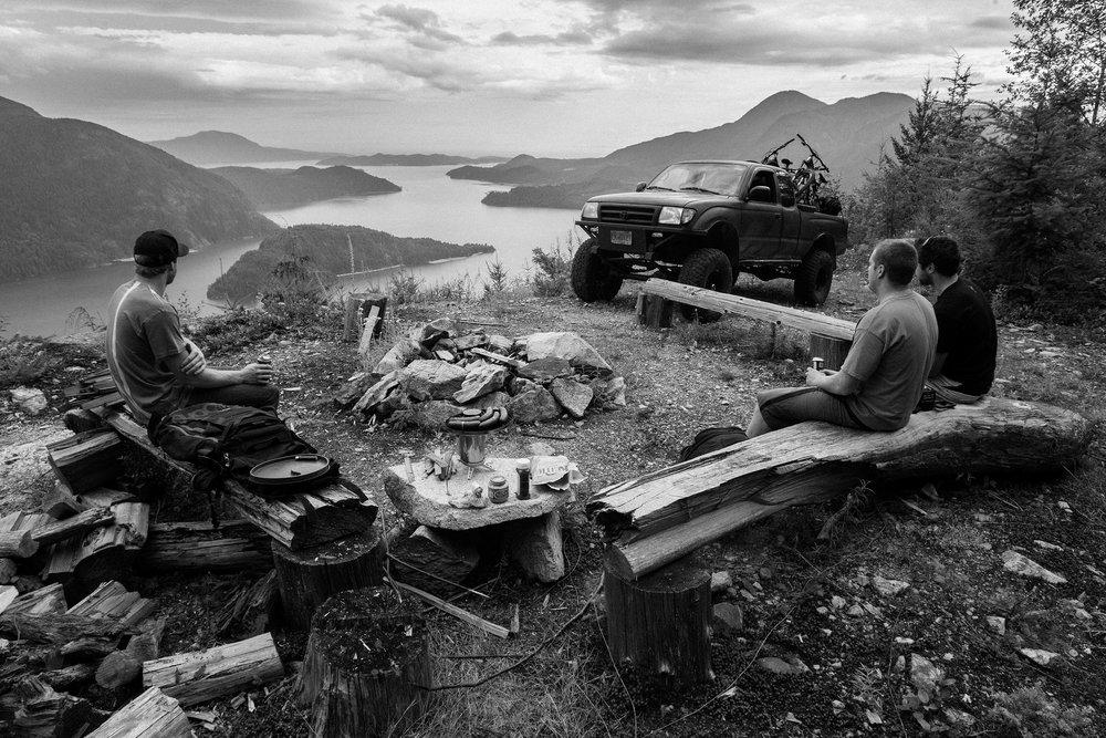 Kyle Norbraten, Dylan Dunkerton, Curtis Robinson   Coastal Range, BC