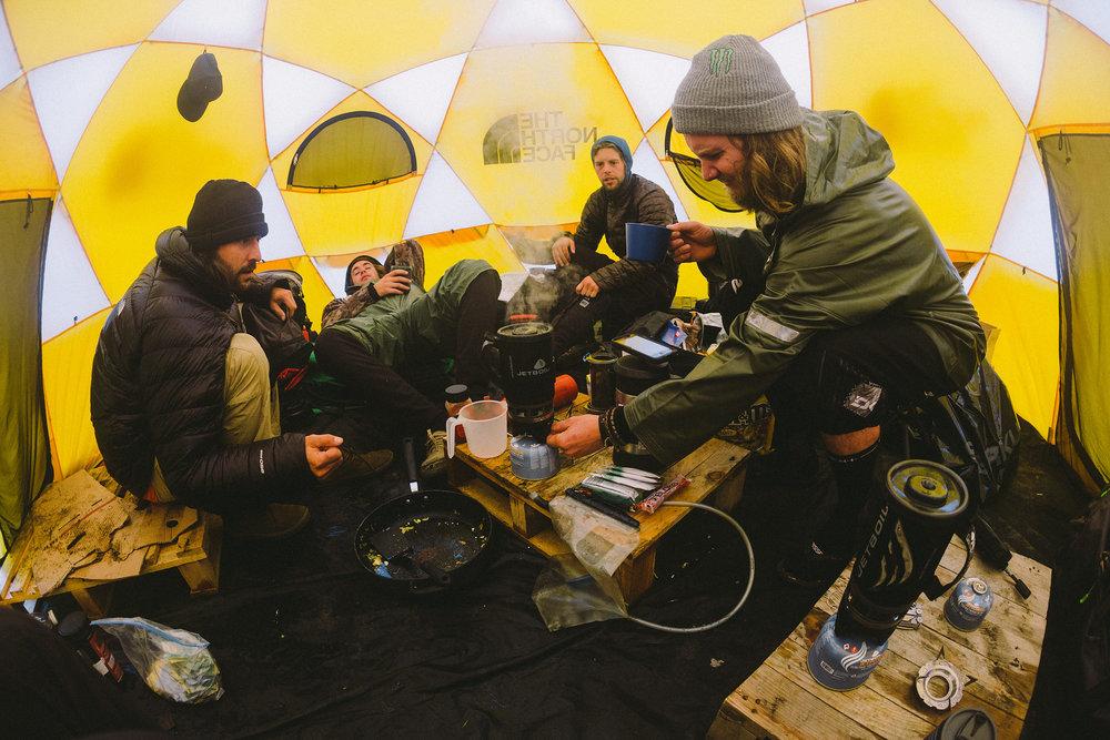 Eric Crosland, Matty Miles, Leo Hoorn, Graham Agassiz   Iceland