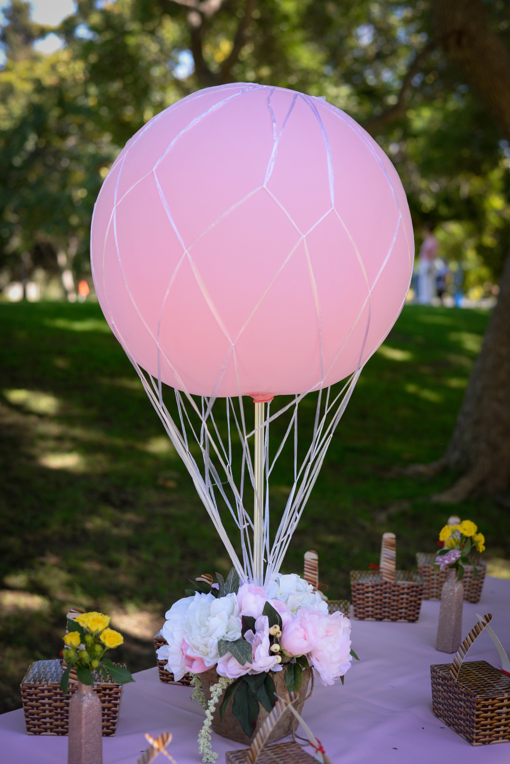 Dorthy's balloon from  @rockpaperdetails