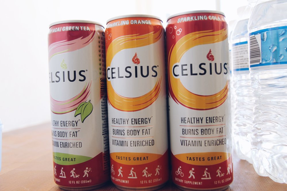 Thank you for sponsoring the event Celsius !