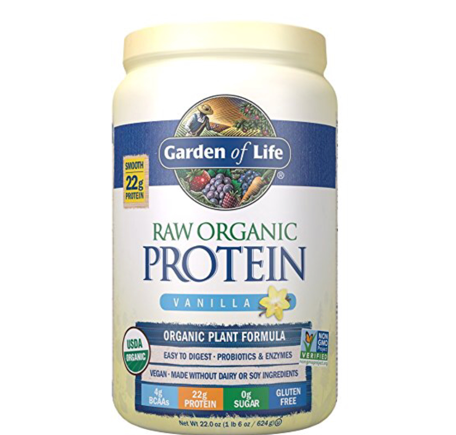 Vegan Protein! This is my favorite because it doesn't taste chalky like most protein and being that this is vegan, its super light but feeling. I usually add some  fruit and veggies ! Feed your muscles 30 min. After exercising.