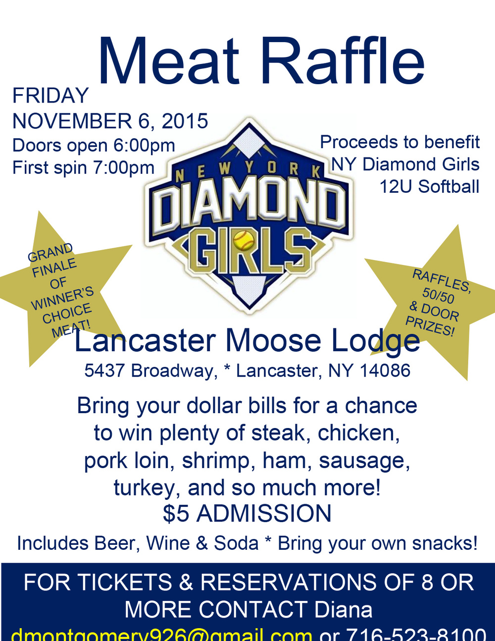 ny diamond girls u softball meat raffle com meat raffle flyer 2015 2 pptx jpg