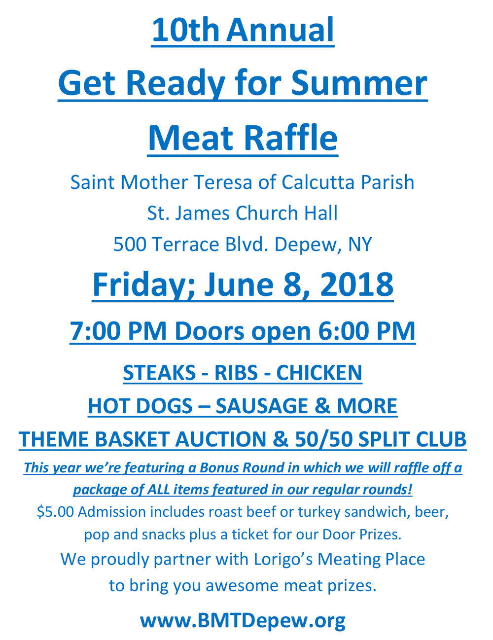 10th Annual Get Ready for Summer Meat Raffle for WNY Meat Raffles.jpg