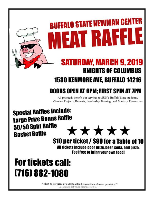 Newman Center Meat Raffle - WNY Flyer.jpg