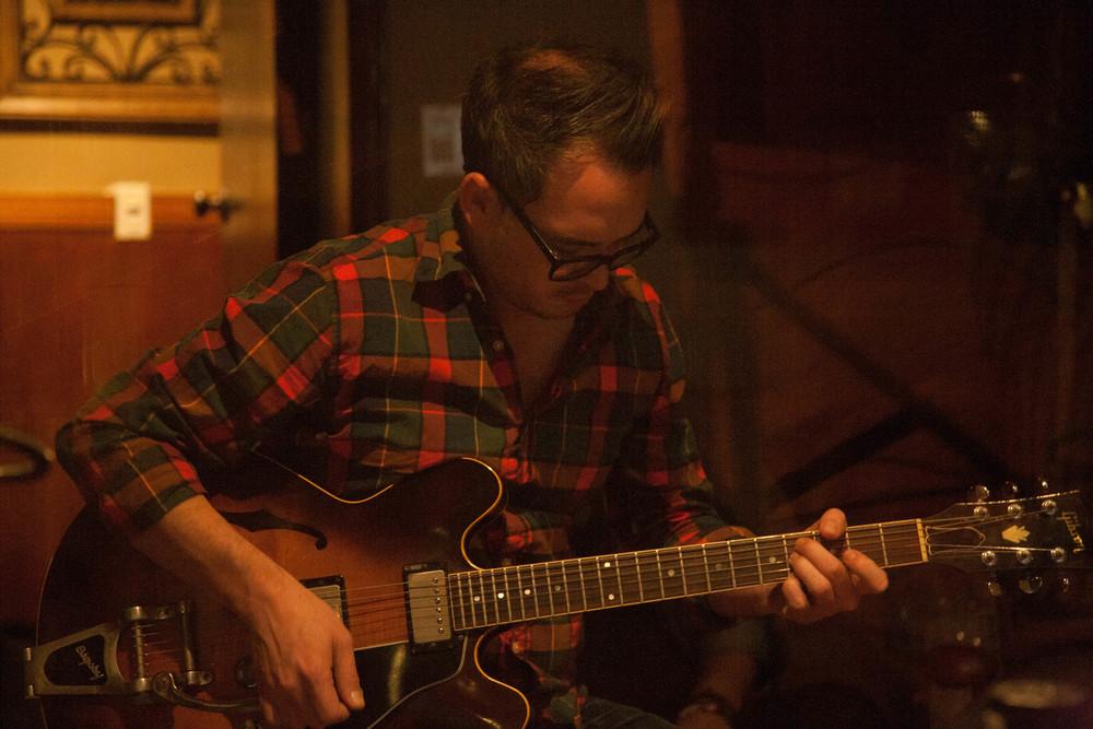Justin Burrow | guitar p:  Miles Mahan