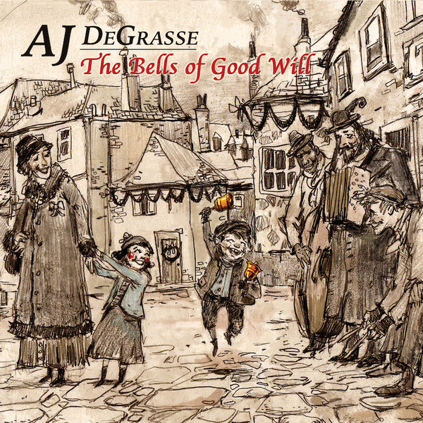 My holidays album,   The Bells of Good Will . Original illustrative artwork by the great  Danny Von Der Ahe .