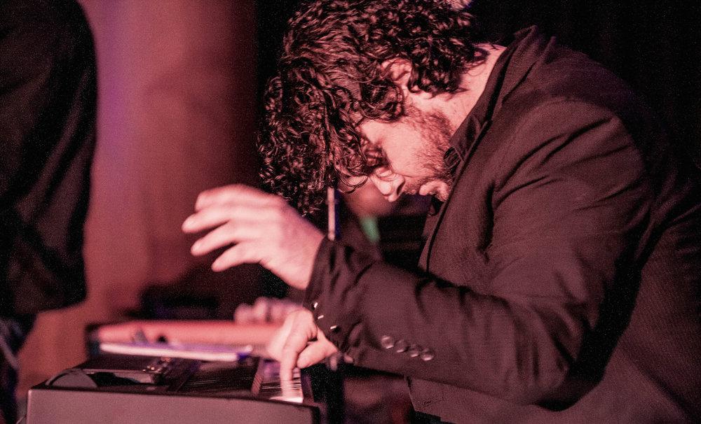 AJ DeGrasse -- piano, voice