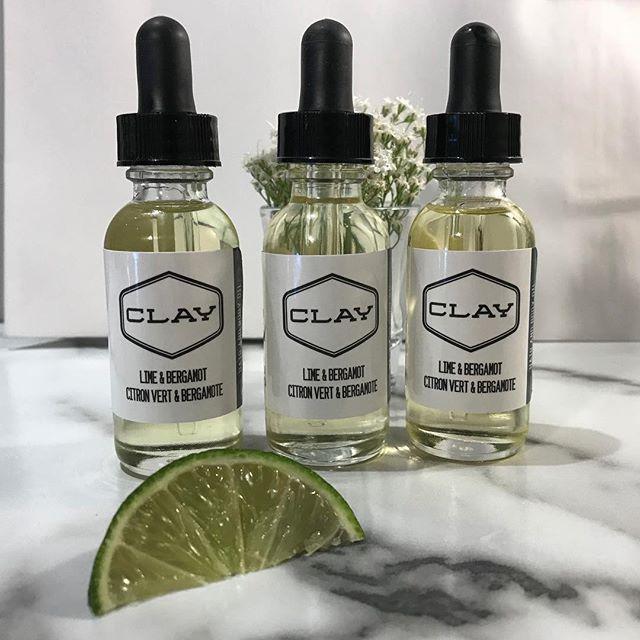Lime & Bergamot Hair and Body Oil. • • #lime #bergamot #hair #body #oil #claysoap