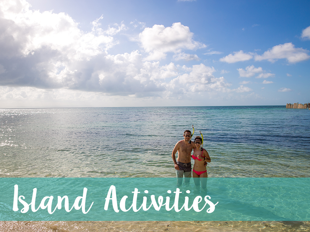 Belize Island Activities