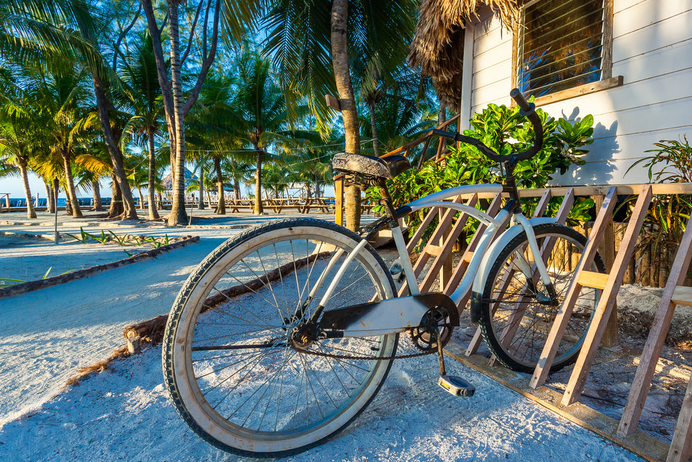 Bicycles - The best way to travel around our little private island is with our complimentary bikes. We have 10 brand new bikes on the island, just for your use!