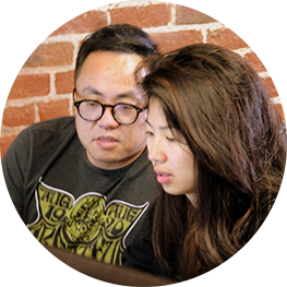 Learn data science by pair programming with talented students.