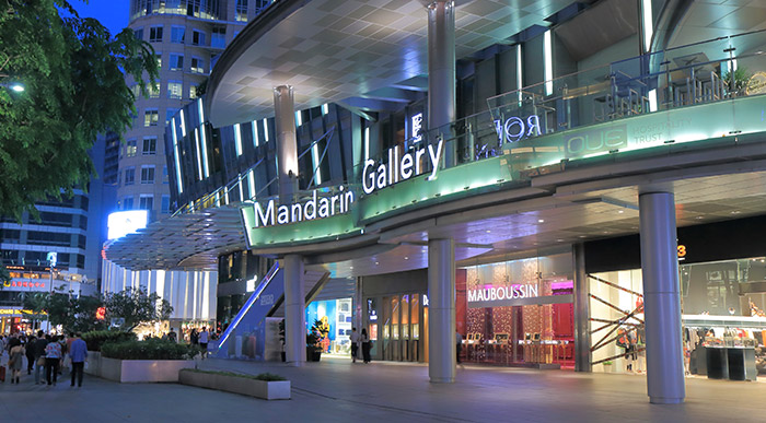 The world's top five largest shopping malls now reside in Asia.