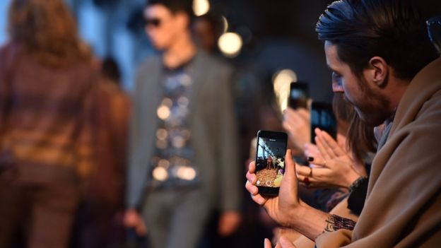Online, and particularly mobile, is increasingly important in the fashion industry
