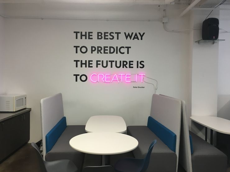 The WGSN office in New York