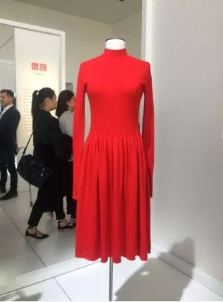 Uniqlo U's 3D-knit dress. (Marc Bain)