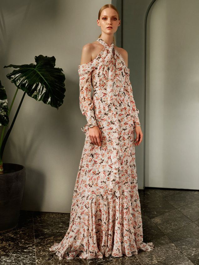 An exclusive Erdem dress, from the MatchesFashion capsule. MatchesFashion