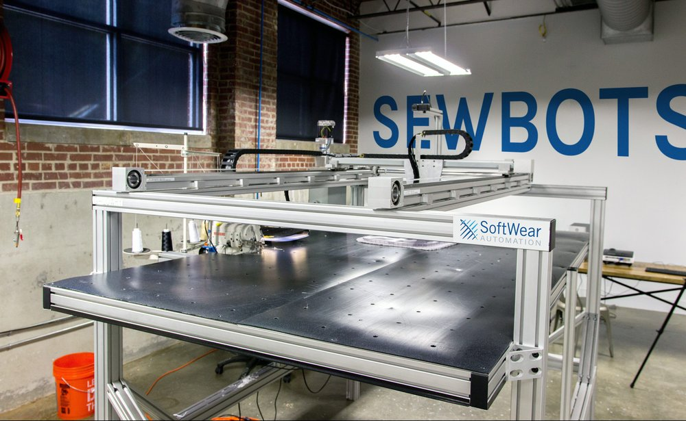 SoftWear Automation's ultra-fast sewbot. (SoftWear Automation)