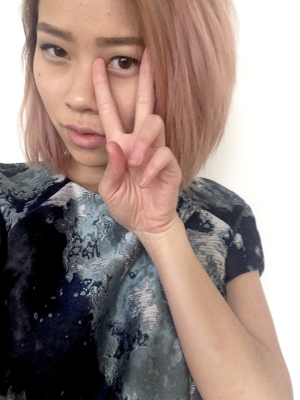 2. Faded...pink....ombre (?)
