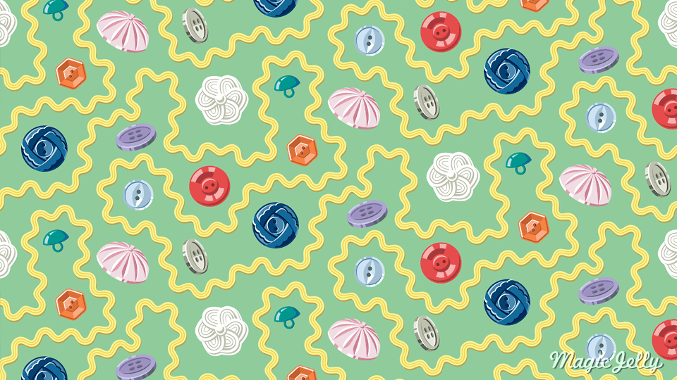 A random image of my Sewing Basket pattern because I don't like blog posts without pictures!