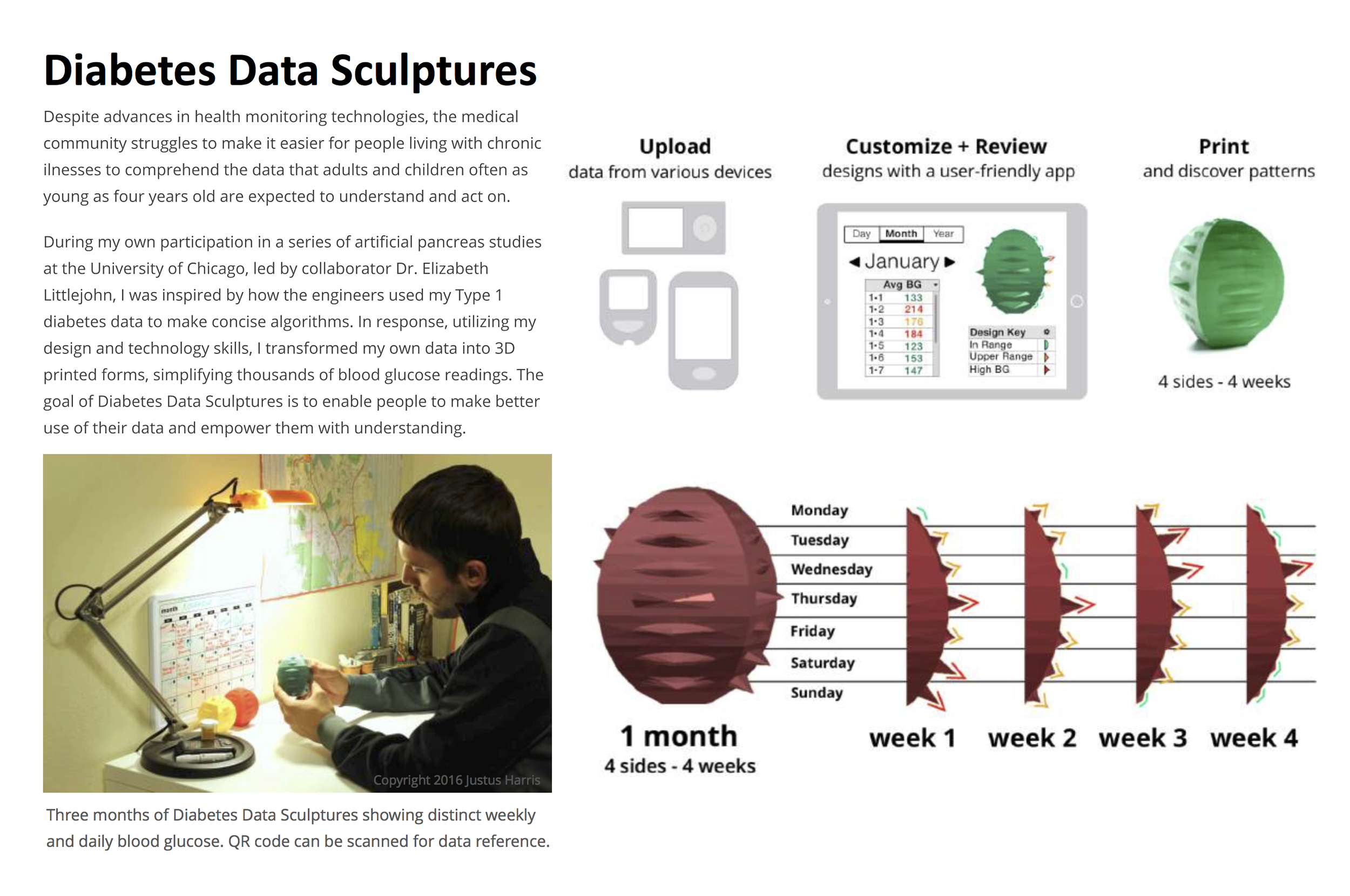 JH Diabetes Data Sculpture Intro