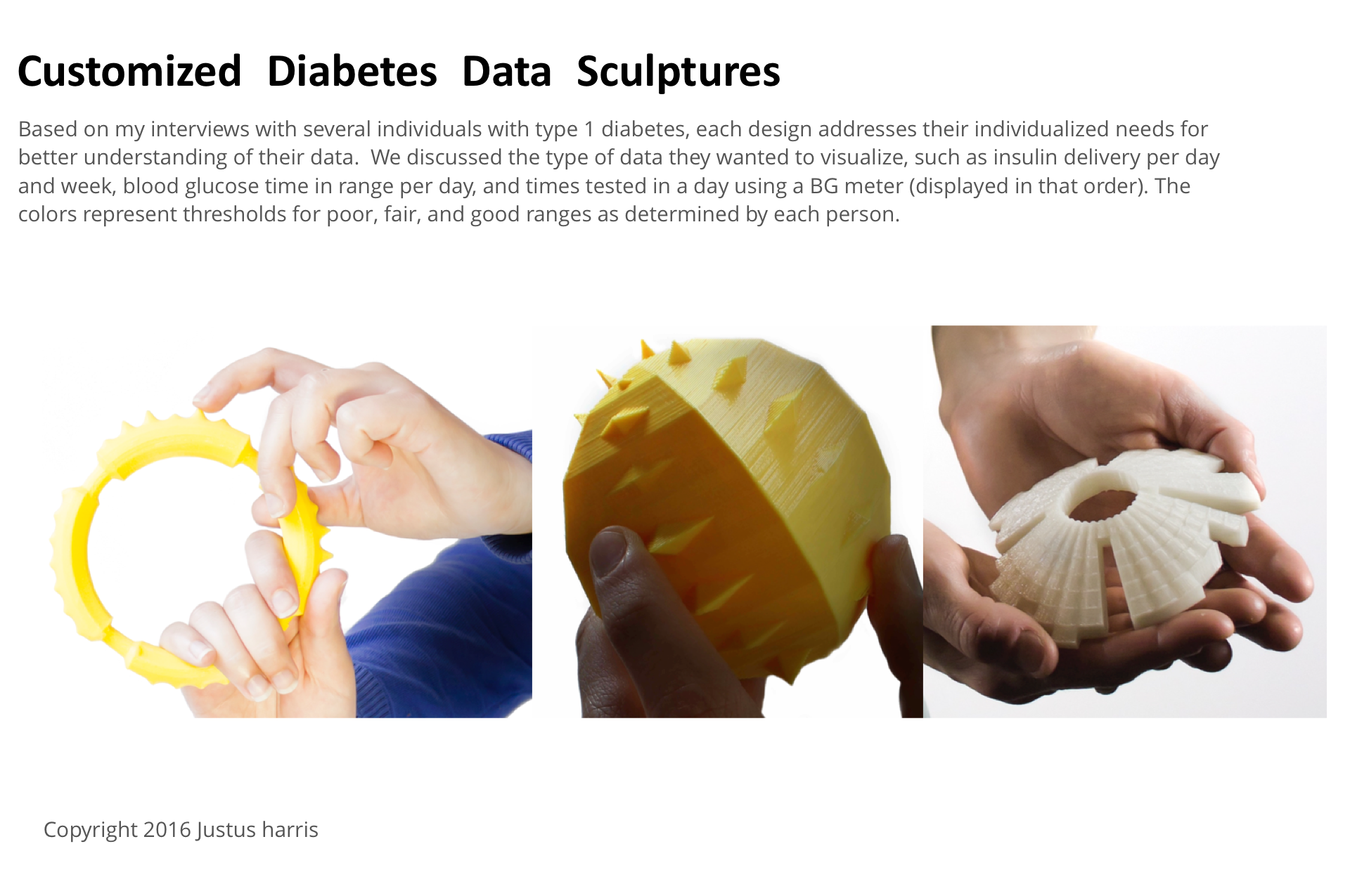 JH Diabetes Data Sculptures