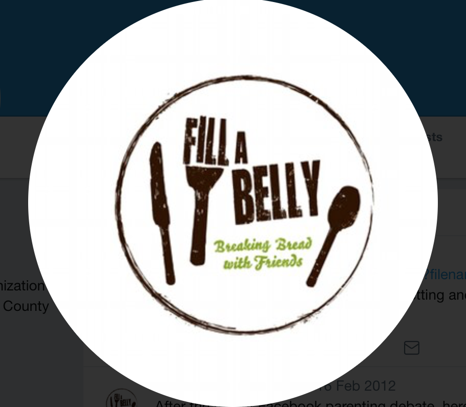 Fill A Belly - Through our friends at Fill A Belly, some families and homeless members of our church we have started a Friday night homeless dinners in Magee Park, Carlsbad. Open to anyone.  For more on our Cbad dinners or other locations in north county https://twitter.com/fillabelly