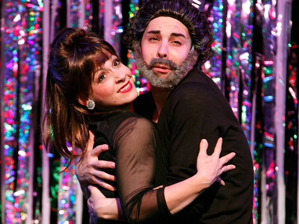 With Jenny Lee Stern as Mandy Patinkin and Patti Lupone