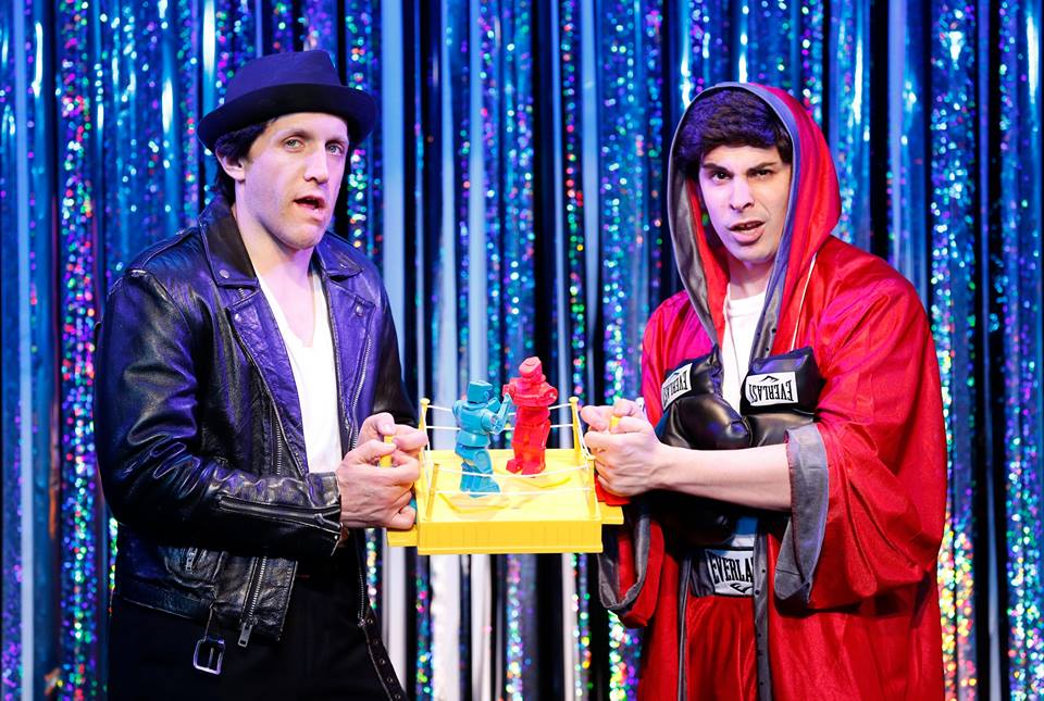 "FORBIDDEN BROADWAY COMES OUT SWINGING!  The Davenport Theatre, NYC ""Rocky Sequence"""