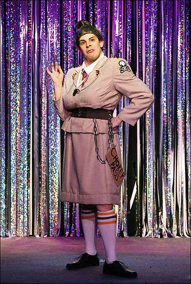 "FORBIDDEN BROADWAY COMES OUT SWINGING!  The Davenport Theatre, NYC ""Miss Trunchbull in Matilda"""