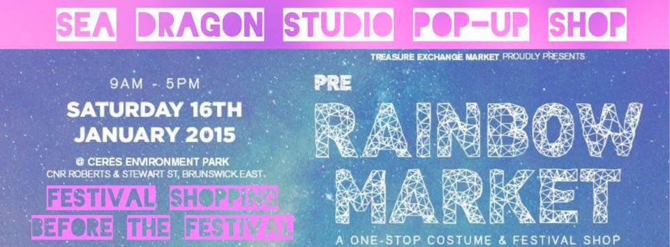 Pre Rainbow Serpent Market Sea Dragons Studio