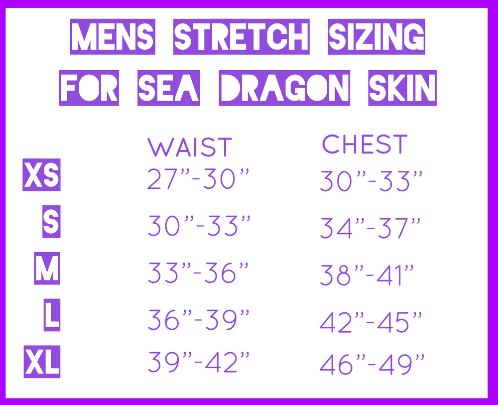 Sea Dragon Sizing Mens Festival Clothes