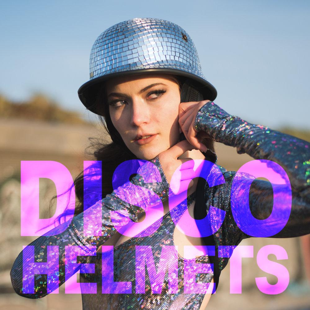 Disco Ball Helmets from DiscoNerd