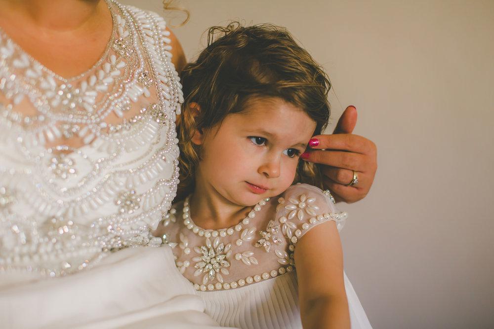 Nautilus Resort Bride getting ready