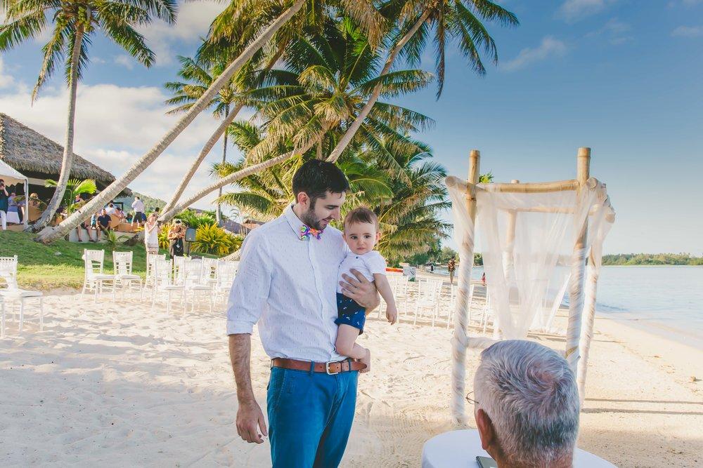 John Kenning Rarotonga Wedding
