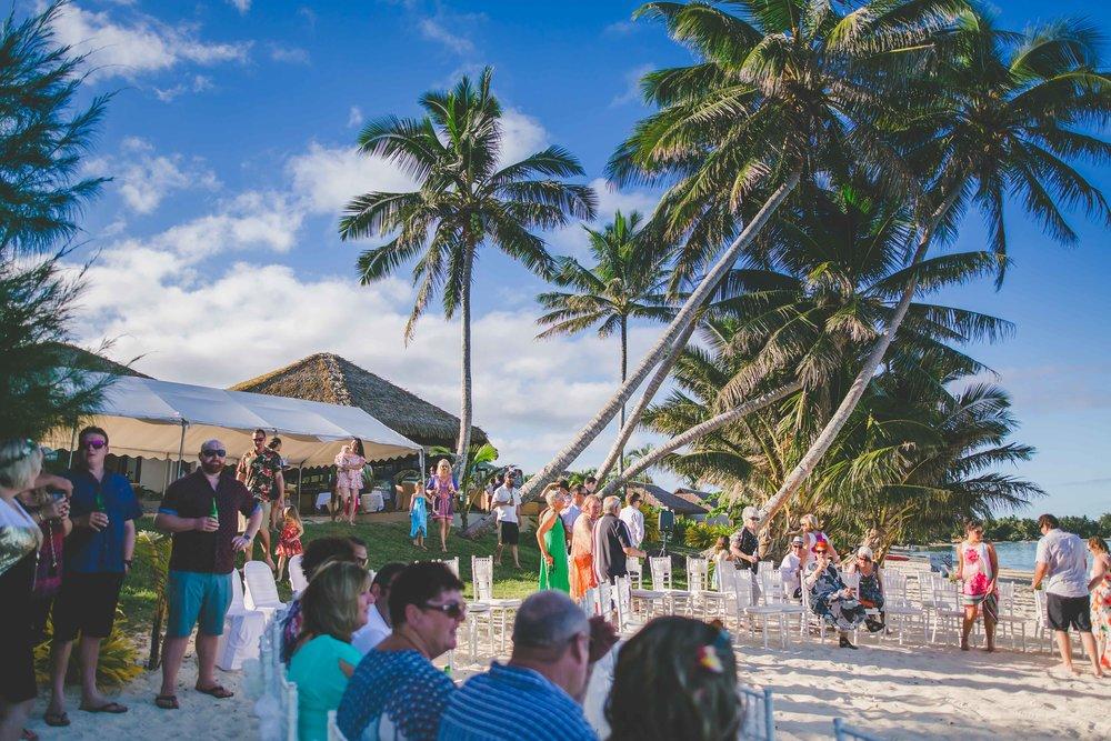 Nautilus Resort Wedding Rarotonga