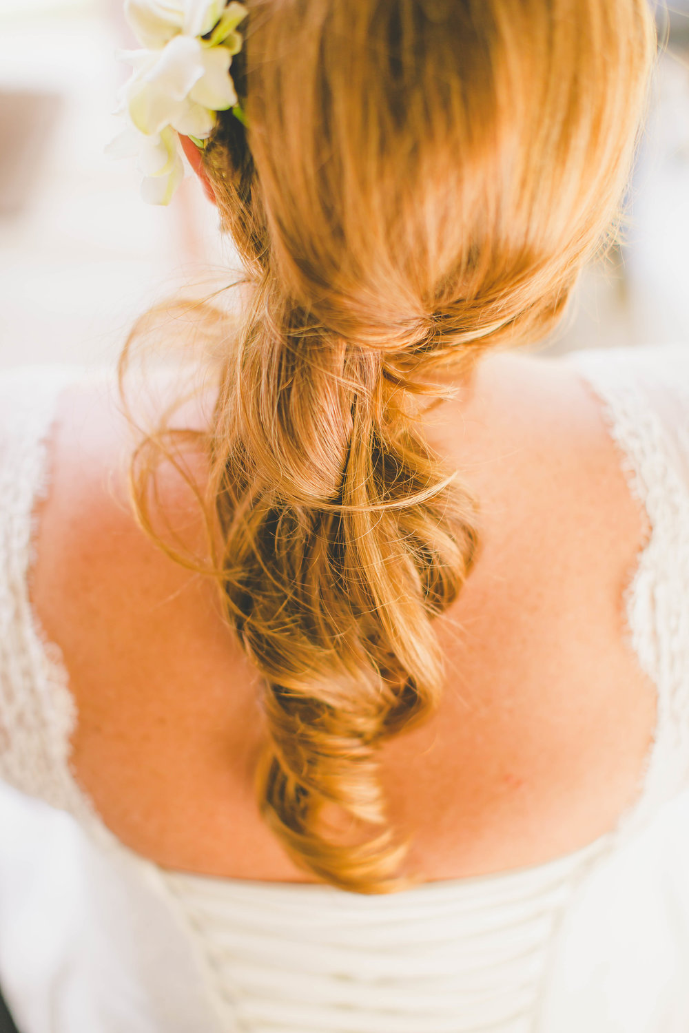 Rarotonga wedding hair