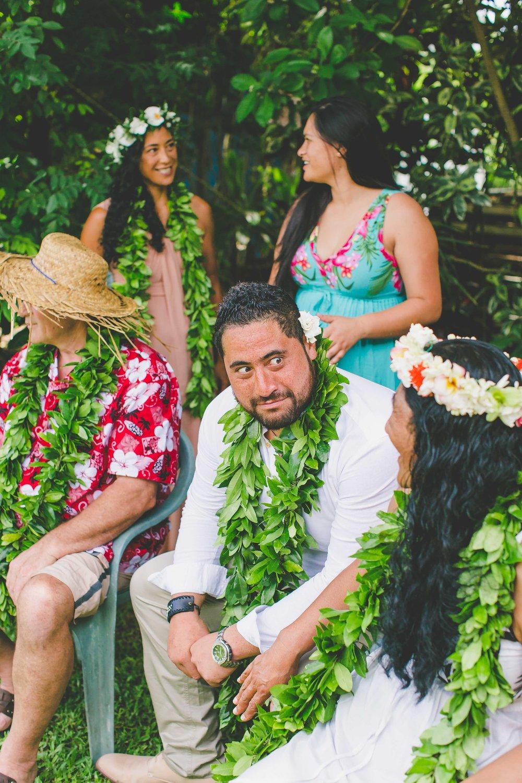 Rarotonga family portraits