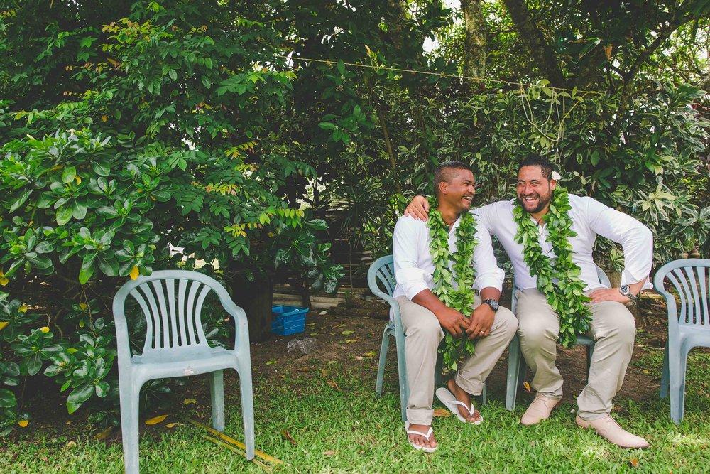 Rarotonga groom