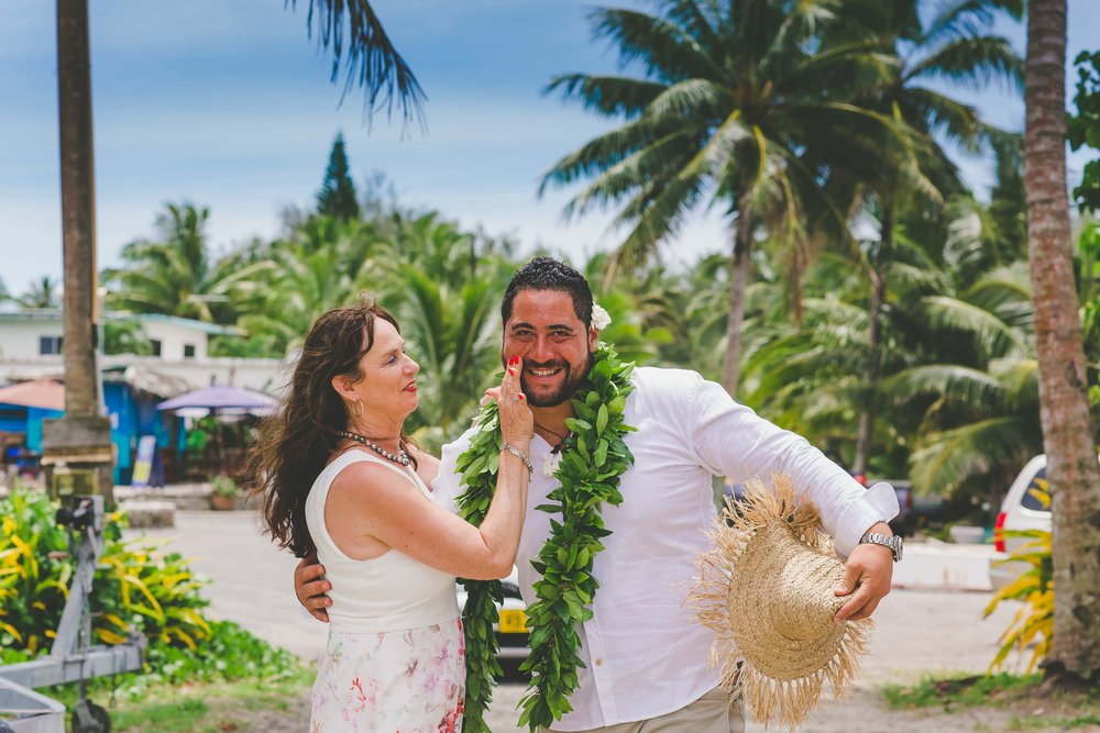 Rarotonga wedding Mooring Cafe
