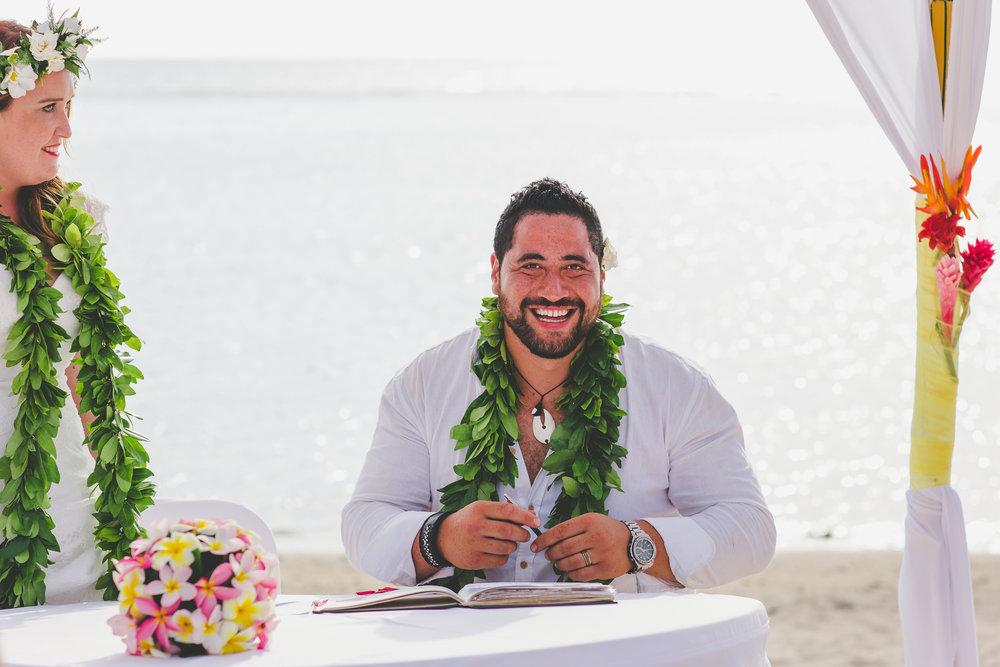 wedding celebrant rarotonga