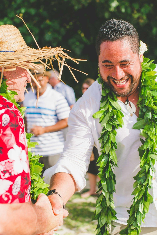 Family Rarotonga wedding holiday