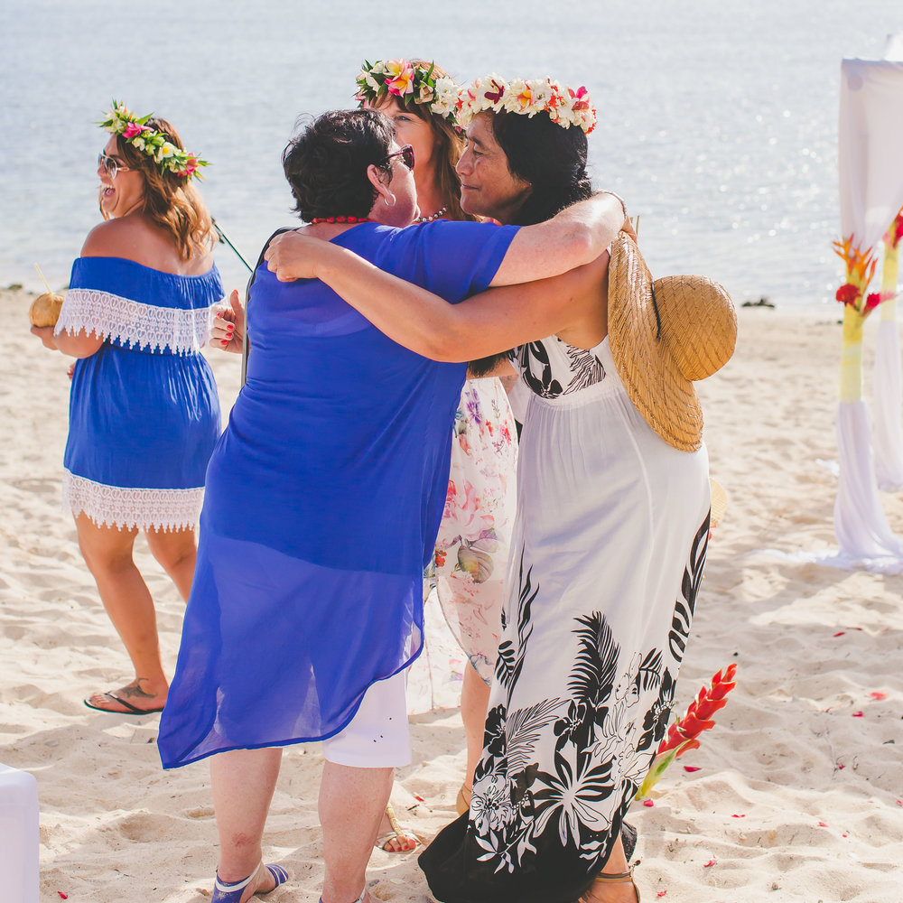 Grooms Mother Rarotonga