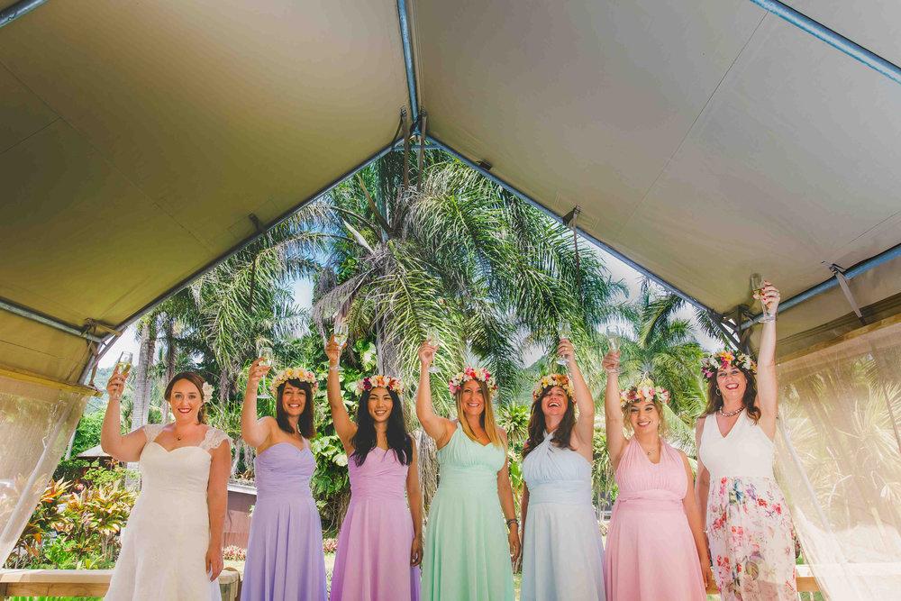 Ikurangi Rarotonga Bridal Party