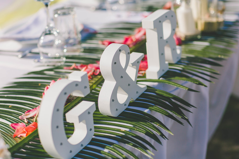 DIY wedding Rarotonga